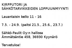 Sähkö-Paulit