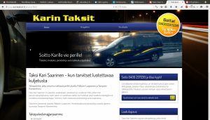Taksi Kari Saarinen