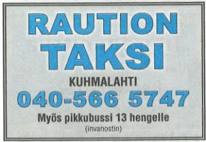 Raution taksi